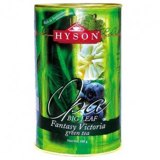 Чай Hyson Fantasy Victoria Green Tea Фантазия Виктории, цейлонский, 100 г