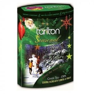 Чай Tarlton Frosty The Snow Man Blend Снеговичок