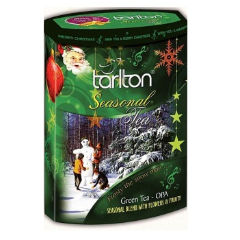 Чай Tarlton Frosty The Snow Man Blend Снеговичок