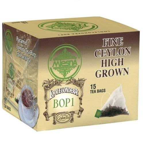 Чай Mlesna Loolecondera Лулекондера, пакетированный, 15 х 2 г