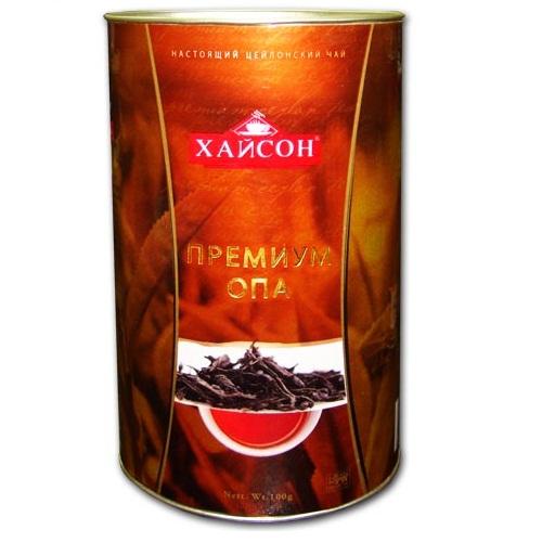 Чай Hyson Premium OPA Премиум ОПА, цейлонский, 100 г