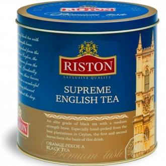 Riston Supreme English Tea Суприм Английский