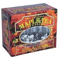Чай Mlesna Maple Tea Кленовый cироп, ароматизированный, пакетированный, 50 х 2 г