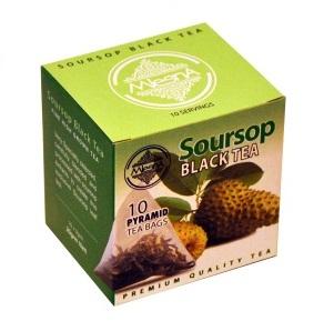 Чай Mlesna Soursop Саусэп, цейлонский, пакетированный, 10 х 2 г