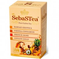 SebaSTea ASSORTI 1 - Exotica, Cinnamon, Rose, Ceylon Gold