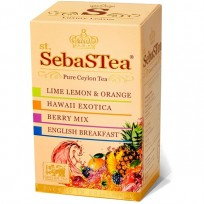 SebaSTea ASSORTI 2 - Orange, Exotica, Berry, Breakfast