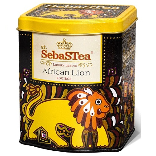 Чай SebaSTea African Lion Rooibos, Африканский лев, 100 г