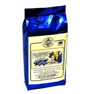 Mlesna Blueberry Green Tea