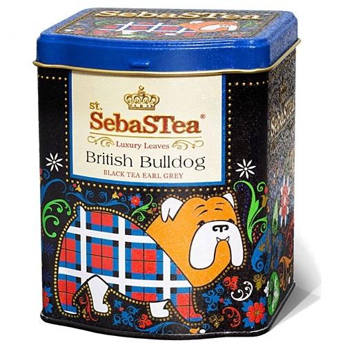 Чай SebaSTea British Bulldog Английский бульдог, цейлонский, 100 г