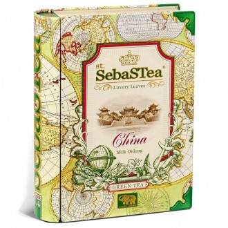 Чай SebaSTea China green tea, Oolong Оолонг, китайский, 100 г