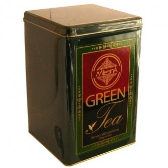 Mlesna Green Tea tin