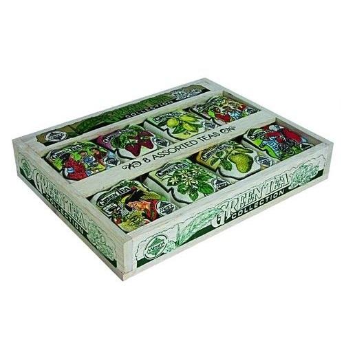Чай Mlesna Green Tea Collection Зеленая Коллекция, цейлонский, 8 х 25 г