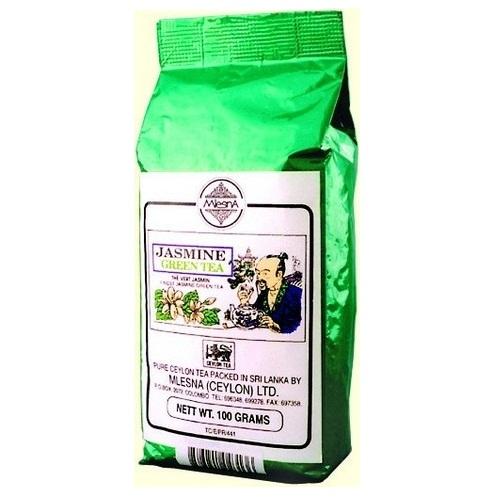 Чай Mlesna Jasmine Green Tea Жасмин, цейлонский, 100 г