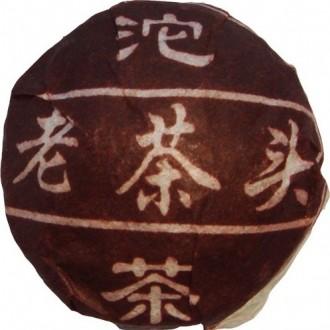 Чай Бриллиантовый дракон Lao Cha Tou Puer Пуэр Cтарые чайные головы