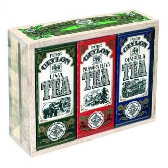 Mlesna Seasonal Ceylon Tea Crate