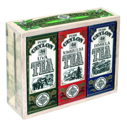 Mlesna Seasonal Ceylon Tea Crate