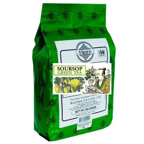Чай Mlesna SourSop Green Tea Саусеп, цейлонский, 500 г