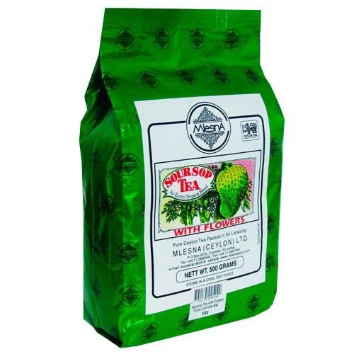Чай Mlesna SourSop Tea Саусеп, ароматизированный, цейлонский, 500 г