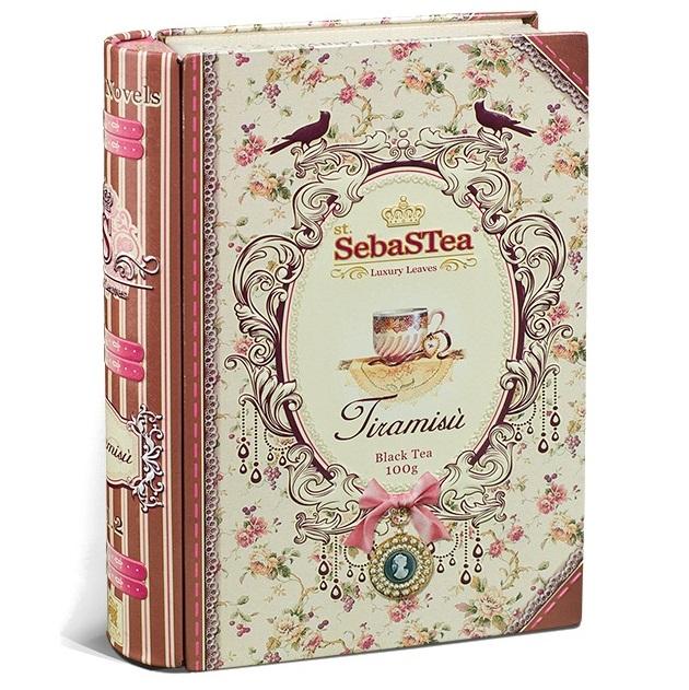 Чай SebaSTea Tiramisu black tea Тирамису, цейлонский, 100 г