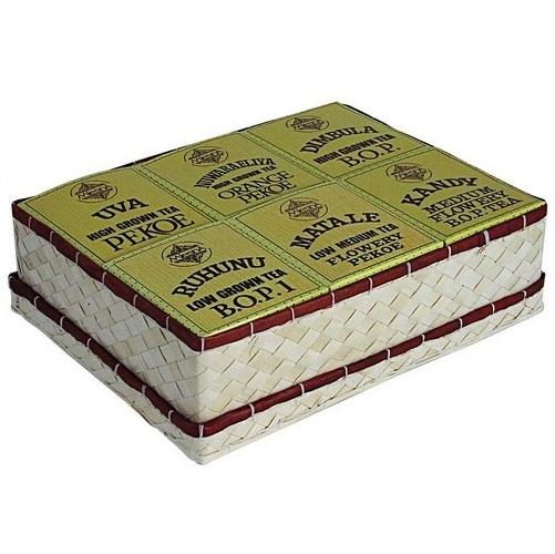 Чай Mlesna Unique Assortment of Six Quality Ceylon Tea Уникальный ассортимент, цейлонский, 6 х 65 г, 400 г
