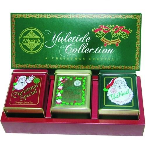 Чай Mlesna Yuletide Collection Праздничная коллекция, цейлонский, 3 х 100 г