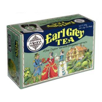 Чай Mlesna Earl Grey (Граф Грей), пакетированный, 100 х 2 г