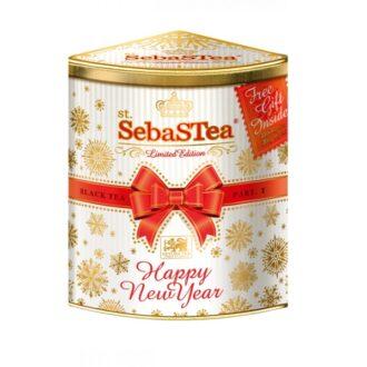 Чай Unitea SebaSTea Happy New Year OPA (С Новым годом и Рождеством !), черный, цейлонский, 125 г
