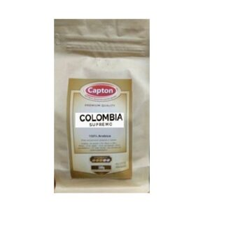 Кофе Capton Colombia Supremo (Колумбия), 100% Арабика, в зернах, 500 г