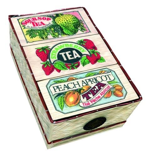 Чай Mlesna 3 Flavour Mat Basket 3 вида/вкуса, цейлонский, черный, ароматизированный, 3 х 50 г