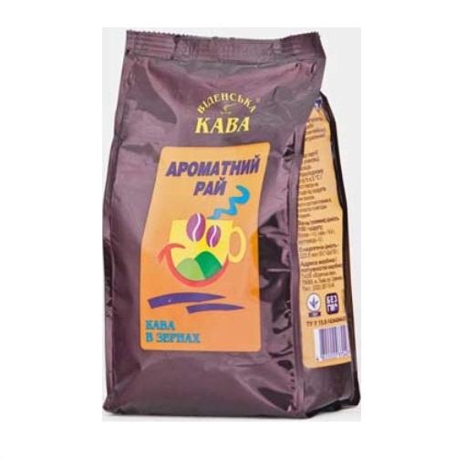 Кофе Віденська кава Аромат Карамель, Арабика в зернах, 500 г