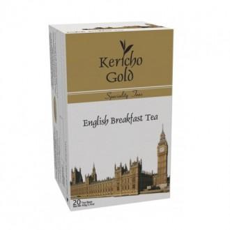 Чай Kericho Gold English Breakfast Английский завтрак, кенийский, пакетированный, 20 х 2 г