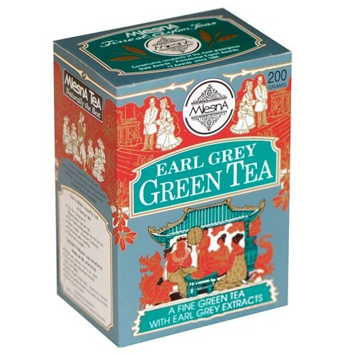 Чай Mlesna Earl Grey Green Tea Ерл Грей, цейлонский, 200 г