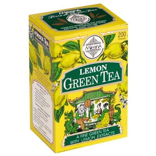 Чай Mlesna Lemon Green Tea Лимон, цейлонский, высшего сорта, 200 г