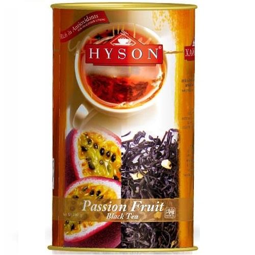 Чай Hyson Passion Fruit Плод Страсти, крупнолистовой, цейлонский, 100 г