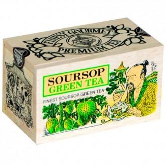Чай Mlesna SourSop Green Tea Саусеп, цейлонский, 100 г