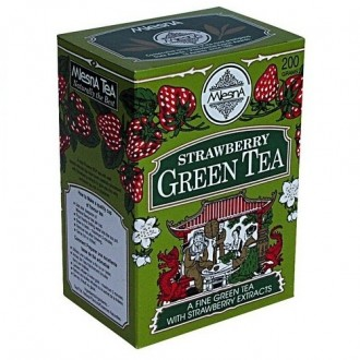 Mlesna Strawberry Green Tea