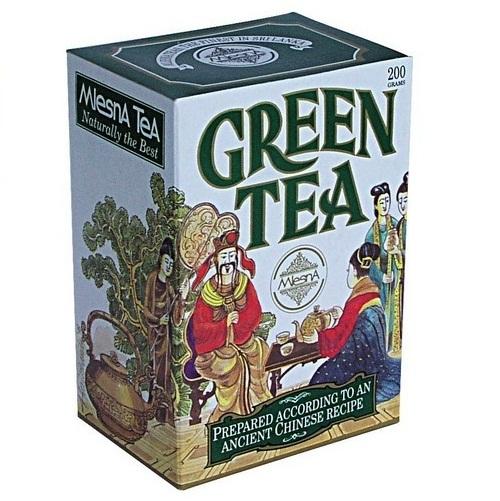 Чай Mlesna Chinese Green Tea Китайский Рецепт, цейлонский, 200 г