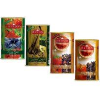 Чай Hyson OPA Teas Collection Лесные ягоды, Саусеп, Клубника, Дикая вишня, цейлонский, 4 x 100 г, 400 г