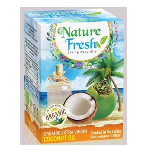Кокосовое масло Nature Fresh, Цейлон, натуральный, органический продукт