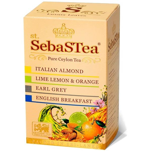SebaSTea ASSORTI 3 - Almond, Orange, Earl Grey, Breakfast