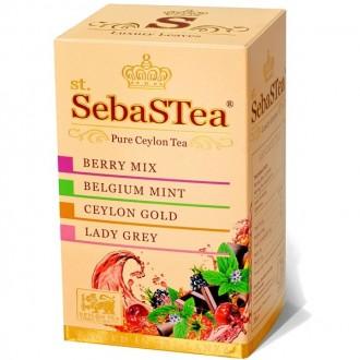 SebaSTea ASSORTI 4 - Berry, Mint, Ceylon Gold, Lady Grey