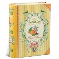 Чай SebaSTea Tropical Dessert green tea Тропический десерт, цейлонский, 100 г