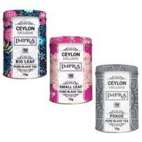 Чай Impra Ceylon Collection Pure Black Tea (Цейлон коллекция), цейлонский, 3x70 г