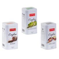 Чай Impra Ceylon Collection Pure Black Tea (Цейлон коллекция), цейлонский, 3×100 г