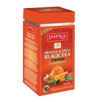 Чай Impra Orange Spice Black Tea (Апельсин и специи), цейлонский, 200 г