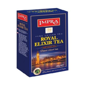 Чай Impra Royal Elixir Delight Tea (Королевский эликсир Классический), цейлонский, 100 г