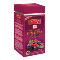 Чай Impra Wild Berry Black Tea (Лесные ягоды), цейлонский, 200 г