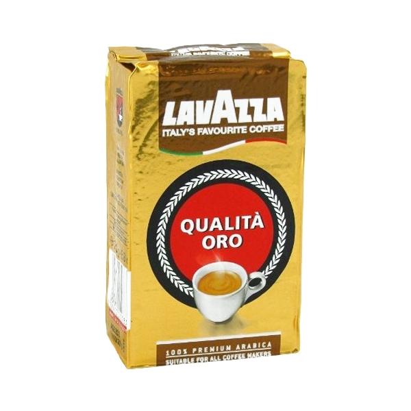 Кофе Lavazza Qualita Oro, 100% премиум арабика, молотый, 250 г