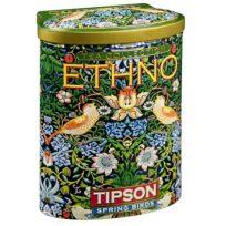 Чай Tipson Spring Birds Green Tea коллекция Ethno (Весенние Птицы), цейлонский, 100 г