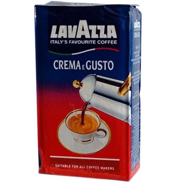 Кофе Lavazza Crema e Gusto, Арабика и Робуста, молотый, 250 г